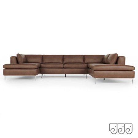Большой угловой диван- Монтероссо.