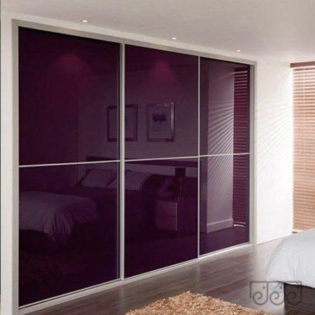 Двери-купе цветное стекло Лакобель