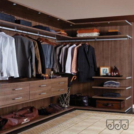 Лаконичная гардеробная